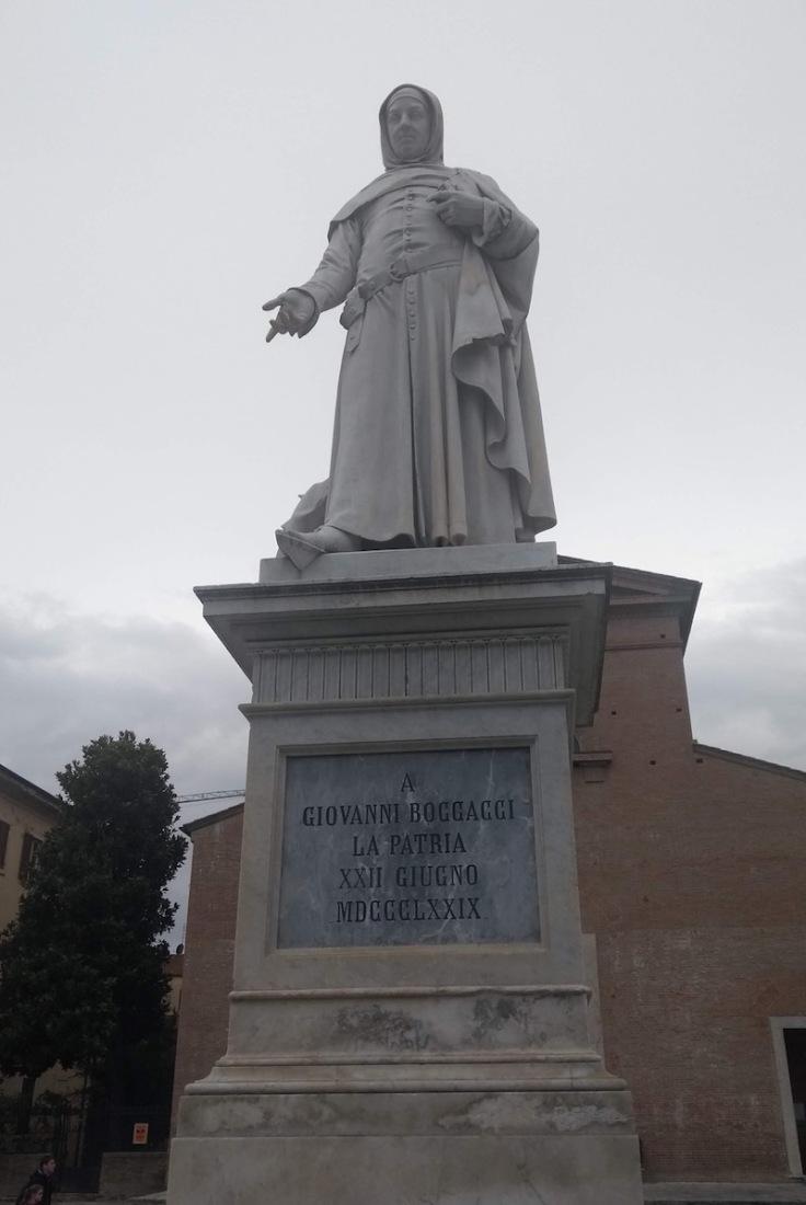Statue of Giovanni Boccaccio