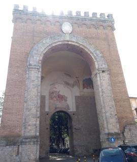 Siena gate, NW of the city