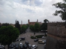 View of Siena from the Fortezza Medicea