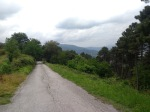 The road down into Vorno