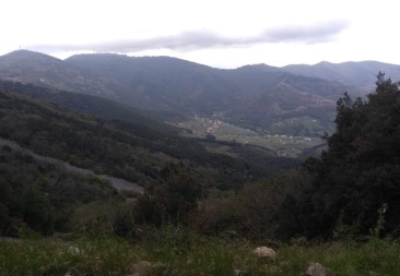 Views over the valley - enough to make you miss your turn