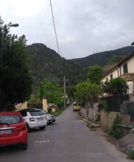 Looking back at the hills from Asciano