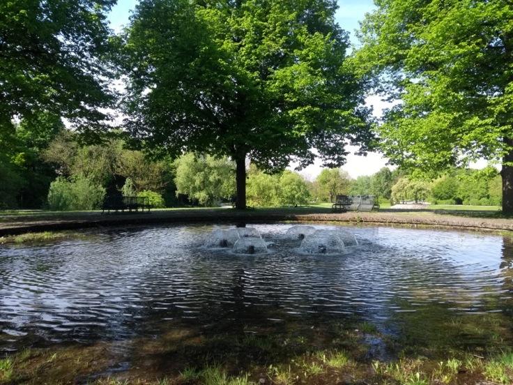 Fountain in Westpark