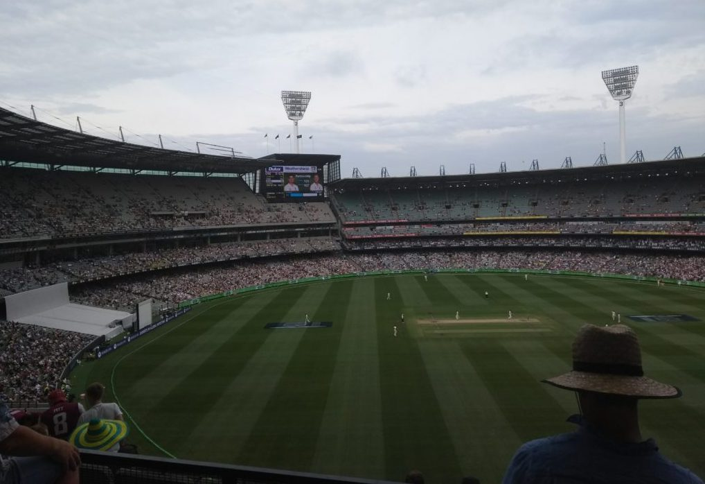 View over the MCG from the fourth tier