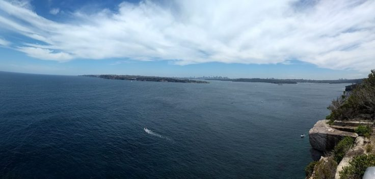 View over Sydney.