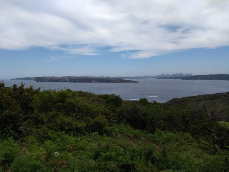 View from the visitors' centre, Northhead.
