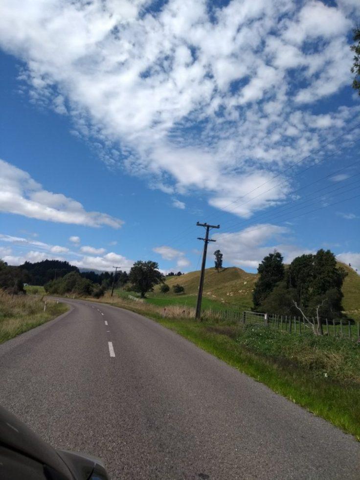 Blue NZ sky