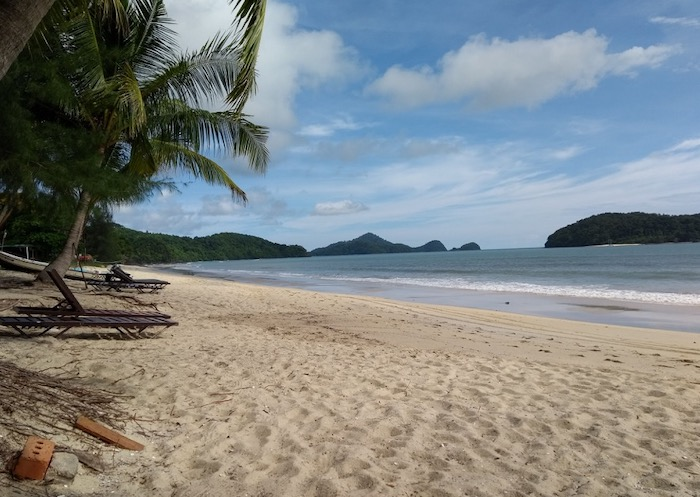 Beautiful beach view, Langkawi