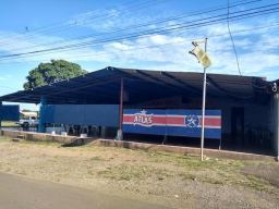 The local bar. A large shed.