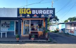 Big Burger, eat in or outside
