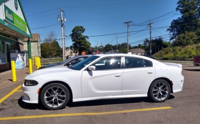 Dodge Charger, side view