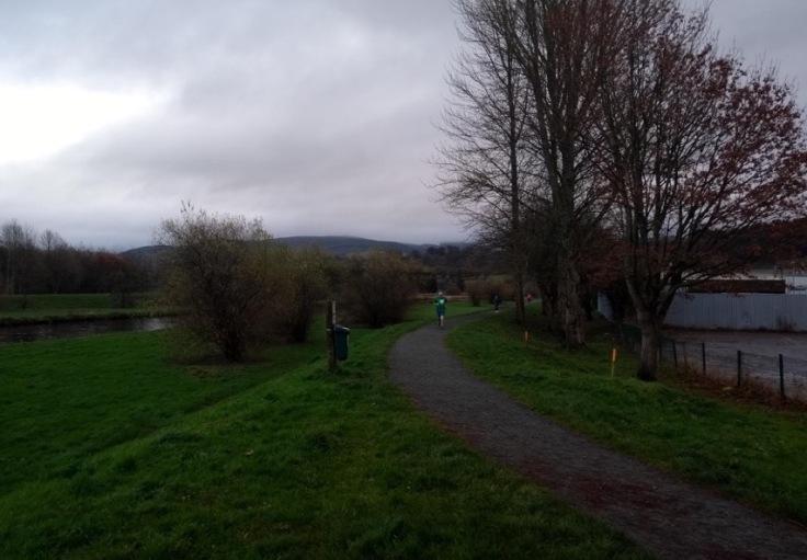 Pont y Bala course