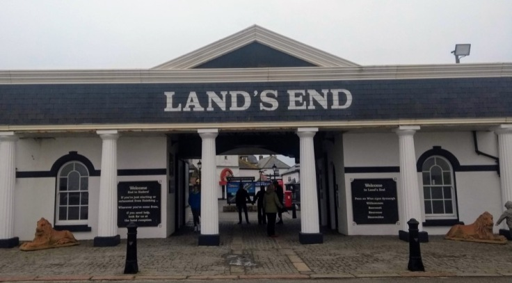 Land's End sign