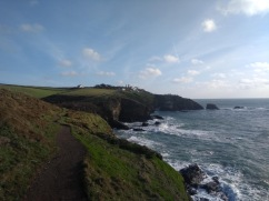 Looking back along the path to Lizard Point