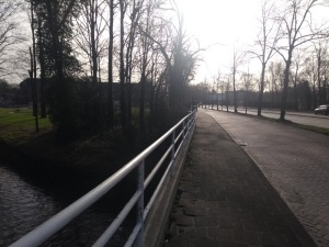 Pavement section over water