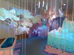 Colourful installation.