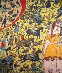 More detail from The Walthamstow Tapestry